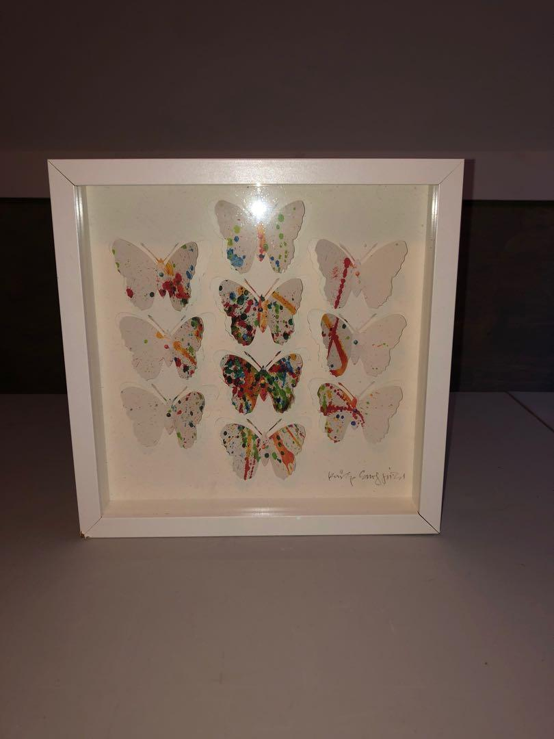 Custom Butterfly Wall Art