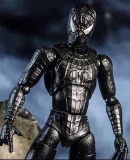 {CUSTOM} TOBEY MAGUIRE SPIDERMAN 3 BLACK SYMBIOTE SUIT