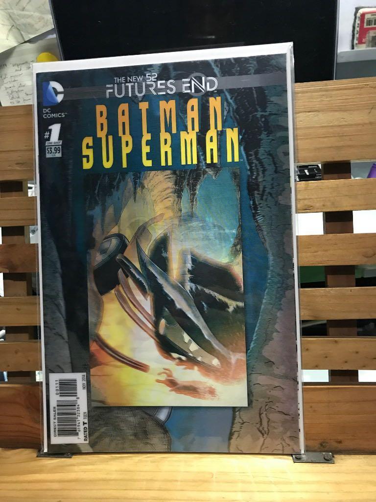 DC Comics Batman and Superman #1 One-shot Lenticular cover 3D New 52 Futures end