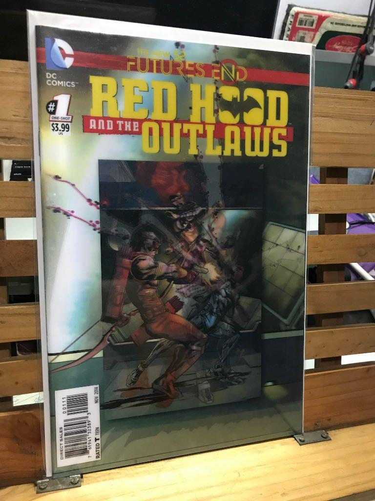 DC Comics Red Hood Outlaws #1 One-shot Lenticular cover 3D New 52 Futures end