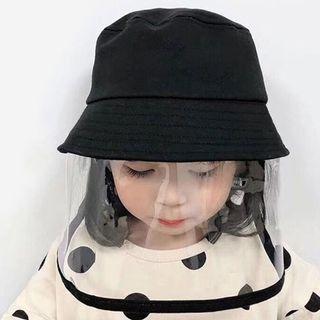 Face Shield Bucket Hat Anti Droplet