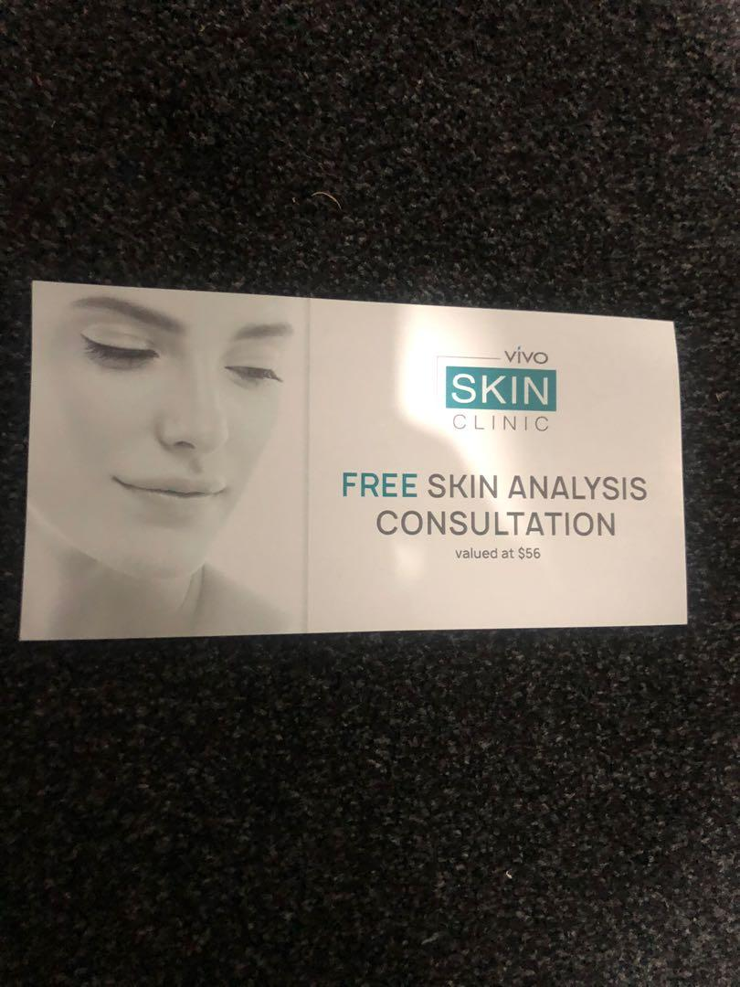 Free skin analysis consultation