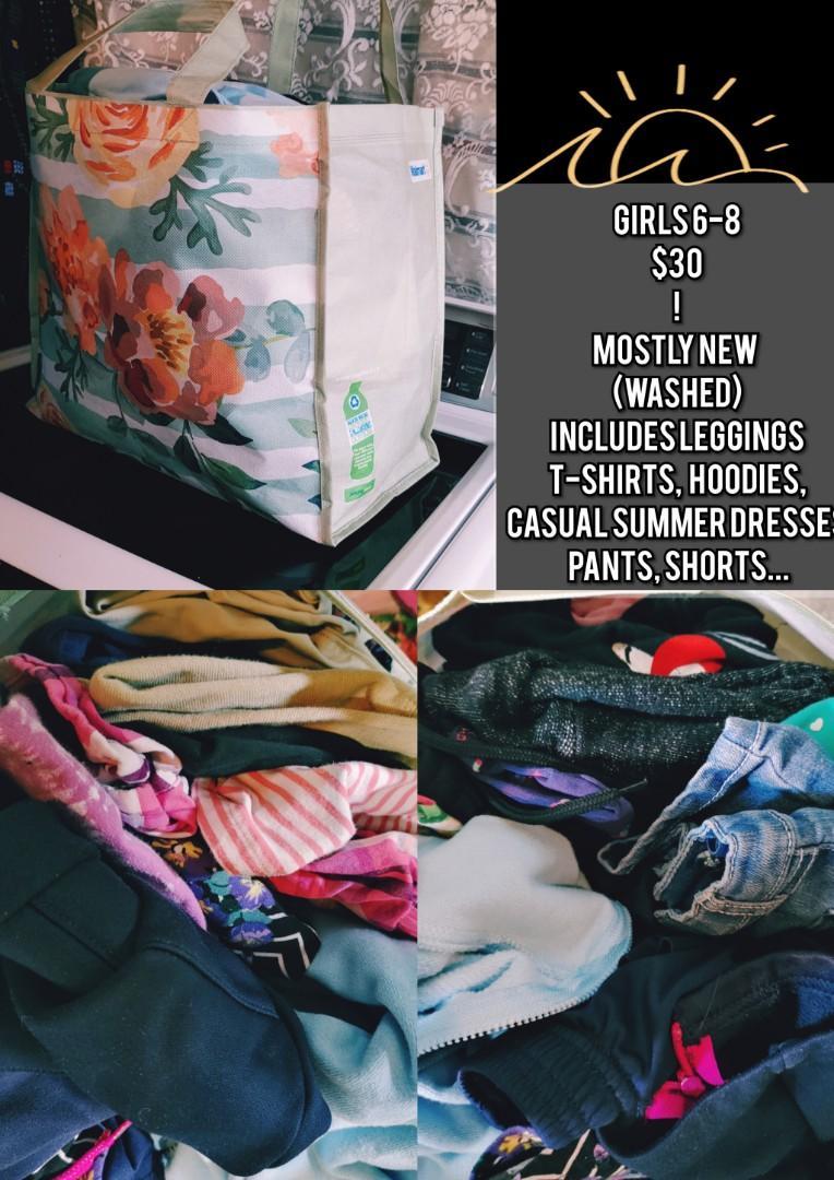 Girls Youth 6-8 Clothing