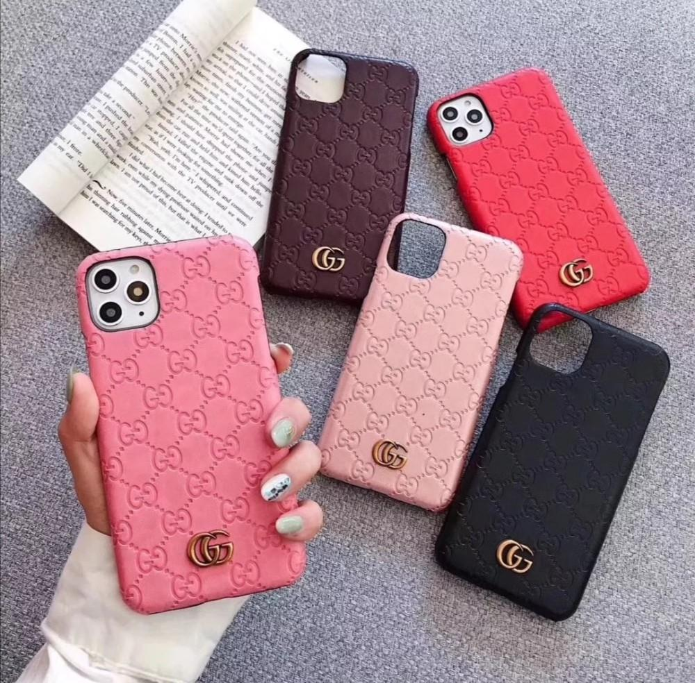 Gucci Phone Case for iPhone 6 7 8 X Xs Max 11 pro max Luxury Fashion gg phone case