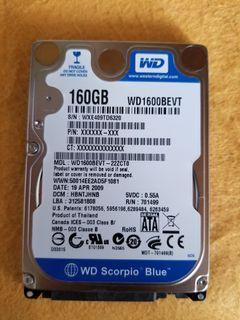 HDD 160G WD