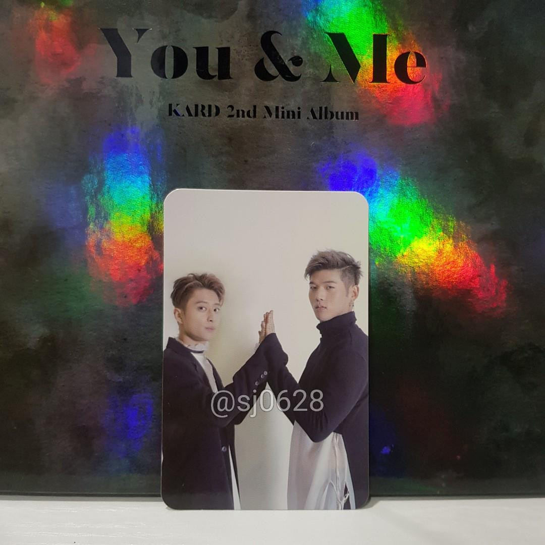 [J.SEPH & BM] Official Unit Photocard - KARD YOU & ME