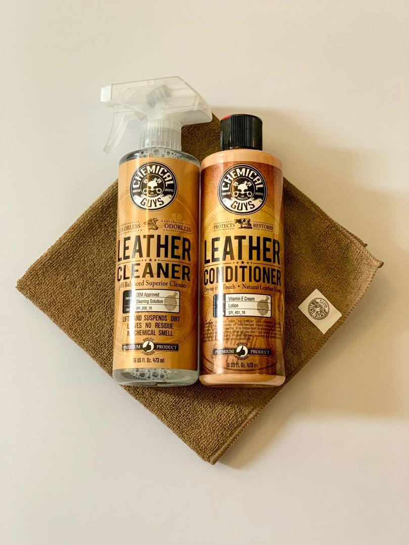 Leather Cleaning & Conditioning Kit *Limited*