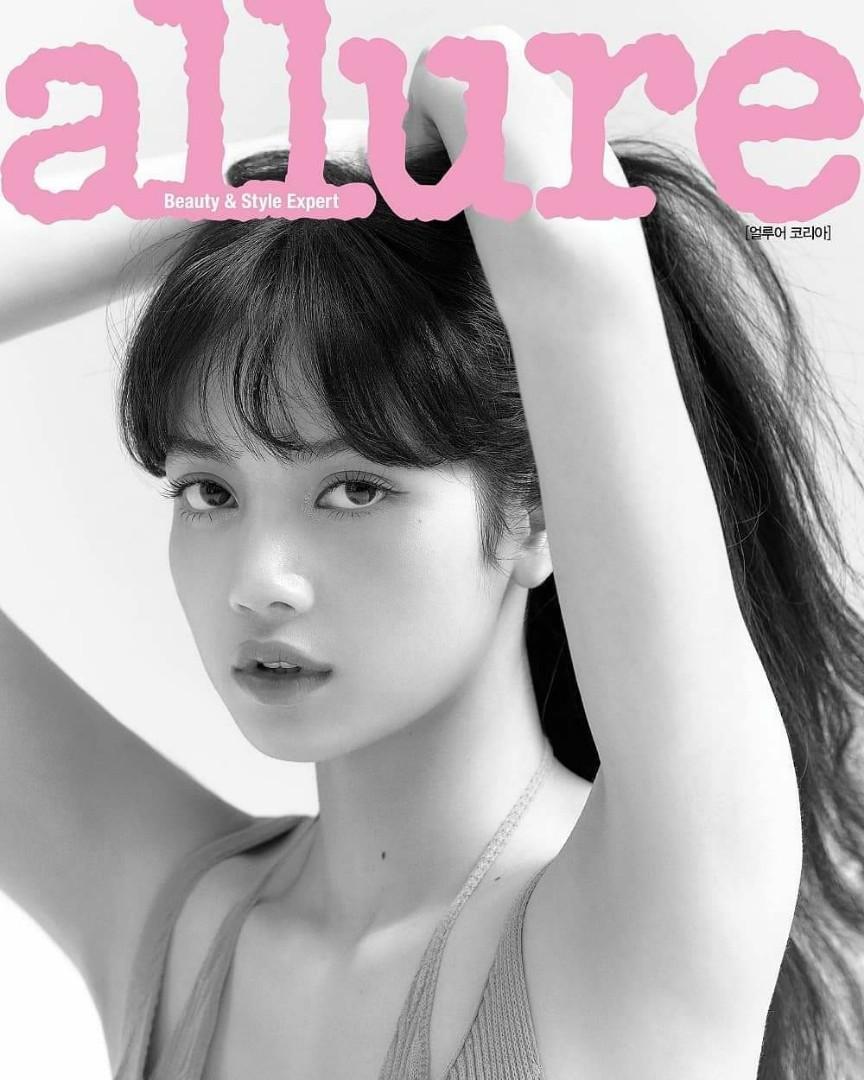 [LIMITED PRE-ORDER]  Blackpink Lisa allure KOREA MAGAZINE June 2020 COVER #LISA .