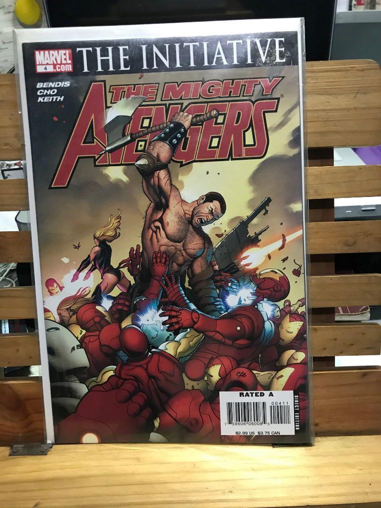 Marvel Comics The Mighty Avengers The Initiative #4 Bendis Ironman Namor Iron Man