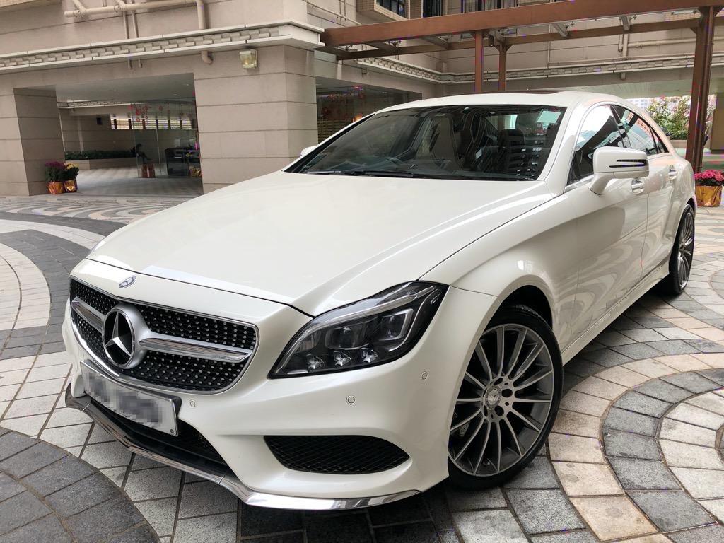 Mercedes-Benz CLS500 4-door coupé (9G-Tronic) C218 model series (Facelift) Auto