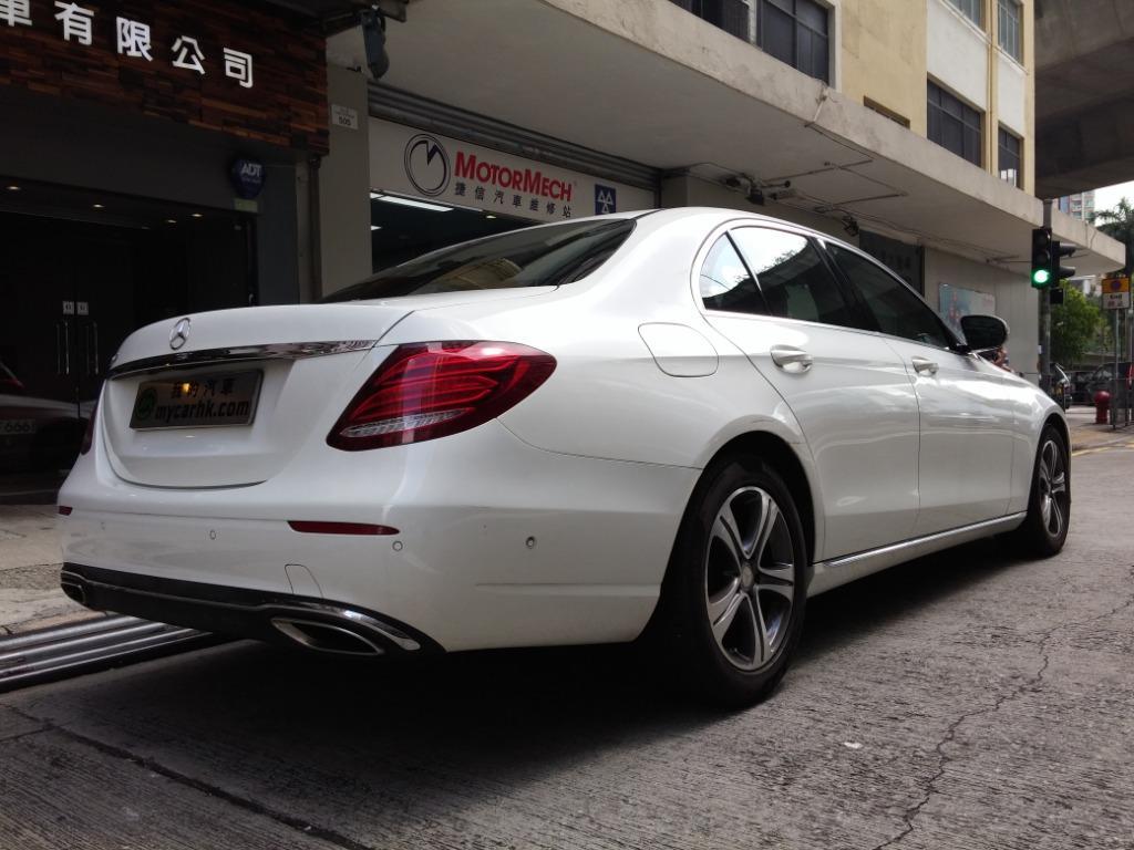 Mercedes-Benz E200 2016 Auto
