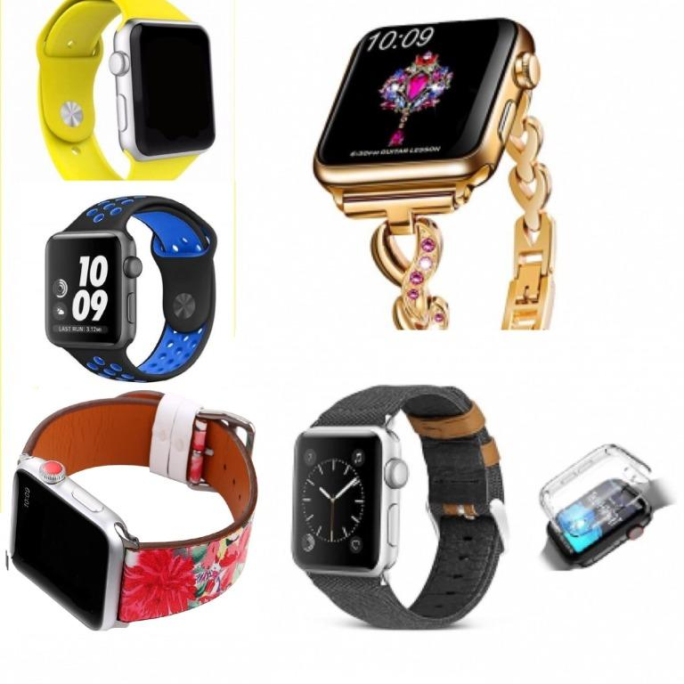 Mixed Apple Watch Band Straps for Series 1, 2, 3, 4 & 5 (38/40mm)