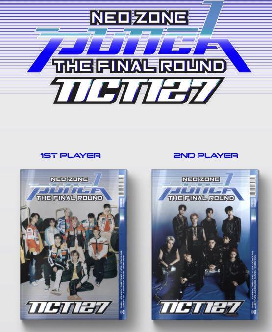 NCT 127 Neo Zone Repackage: The Final Round 'Punch'