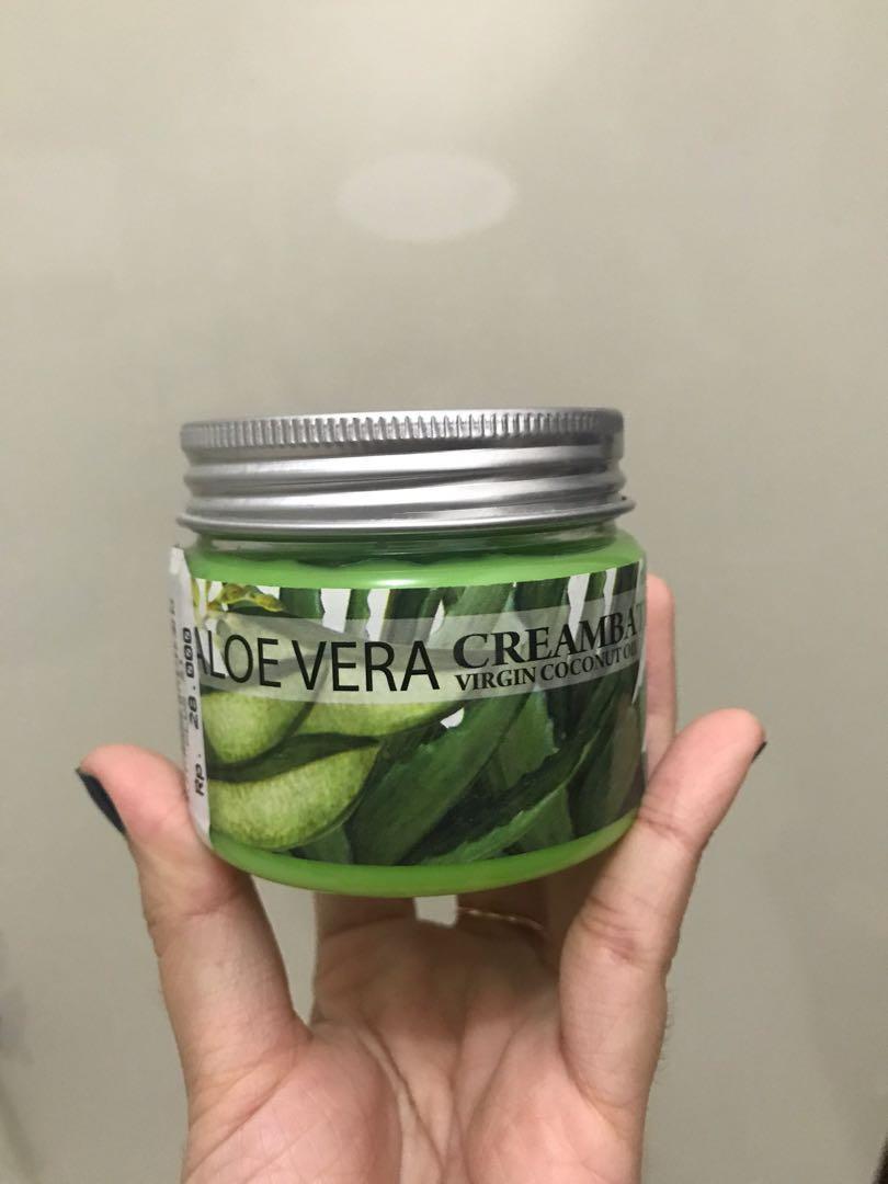 New Aloe Vera Creambath Hair Care Kesehatan Kecantikan Perawatan Rambut Di Carousell