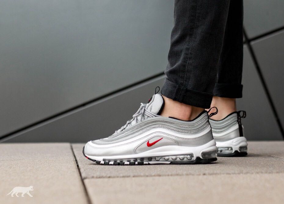 """Bulk Oriental Return  Nike Air Max 97 """"Silver Bullet"""" Young OG的Style🖤🤍, Men's Fashion,  Footwear, Sneakers on Carousell"""