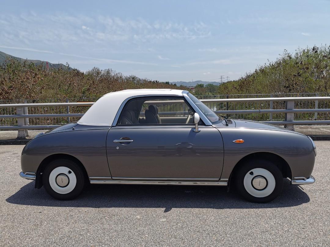 Nissan Figaro semi convertible Auto