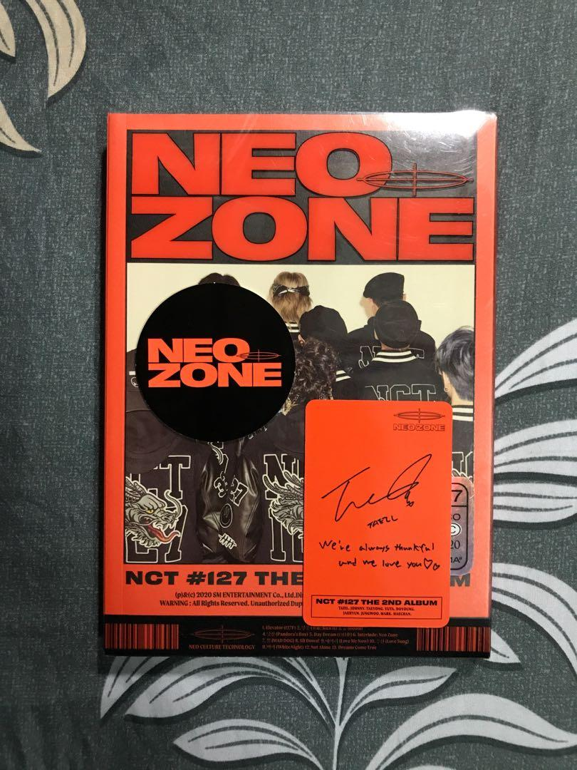 [OFFICIAL] NCT 127 NEO ZONE N VERSION CIRCLE/PHOTOCARD