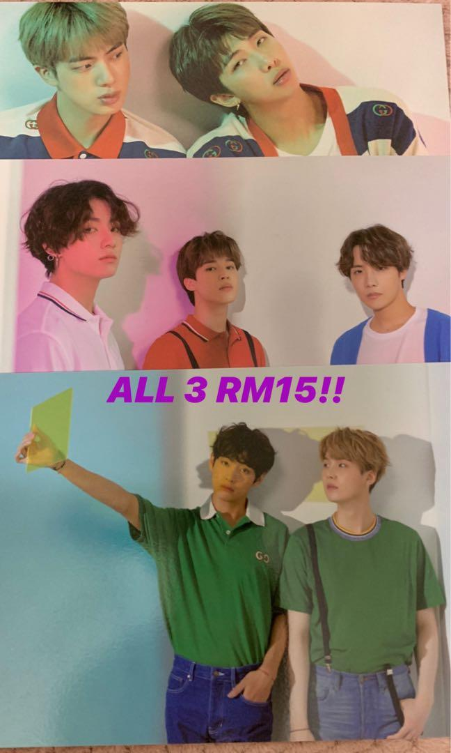 [PRICE REDUCED!] BTS MOTS Persona photocards & SG posters