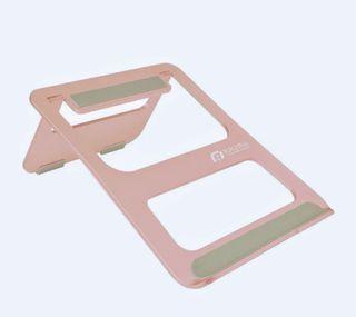 Raymii R11 鋁合金折疊式筆電支架(玫瑰金)