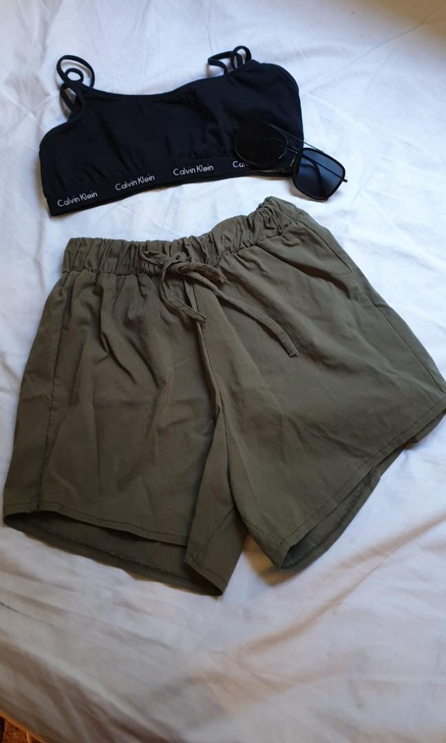 Scrunched shorts