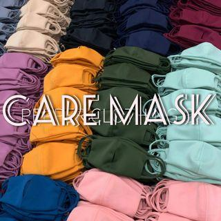 Set of 5 Washable Face/ Care Mask 2-ply with Tissue Filler