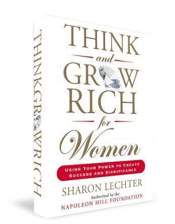 Think and Grow Rich for Women Book - Sharon Lechter Napoleon Hill