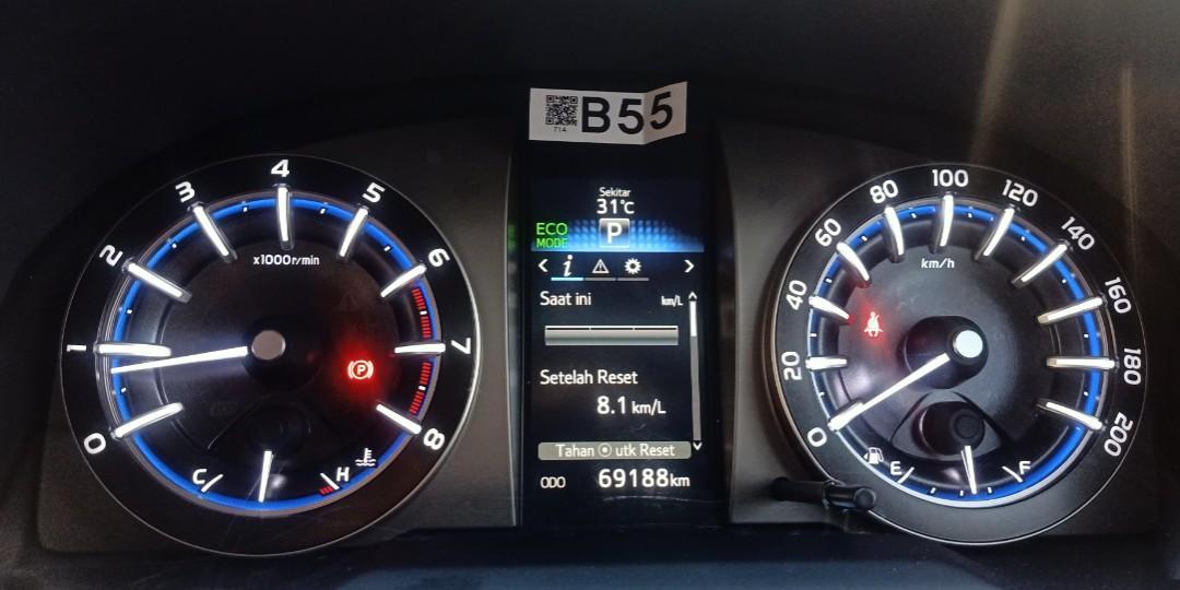 #THR2020 TERMURAH Toyota Innova Reborn V 2016 Matic Bensin Silver.