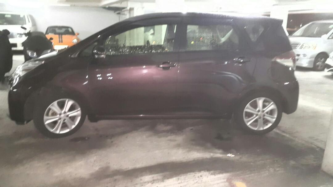 Toyota ractis 1.5L Auto
