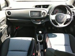 Toyota Vitz RS Manual