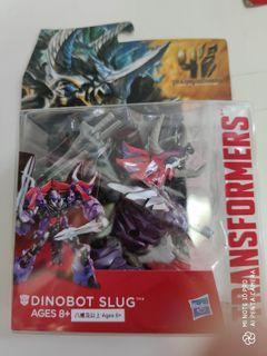 Transformers Age of Extinction Generations Deluxe Class Dinobot Slug