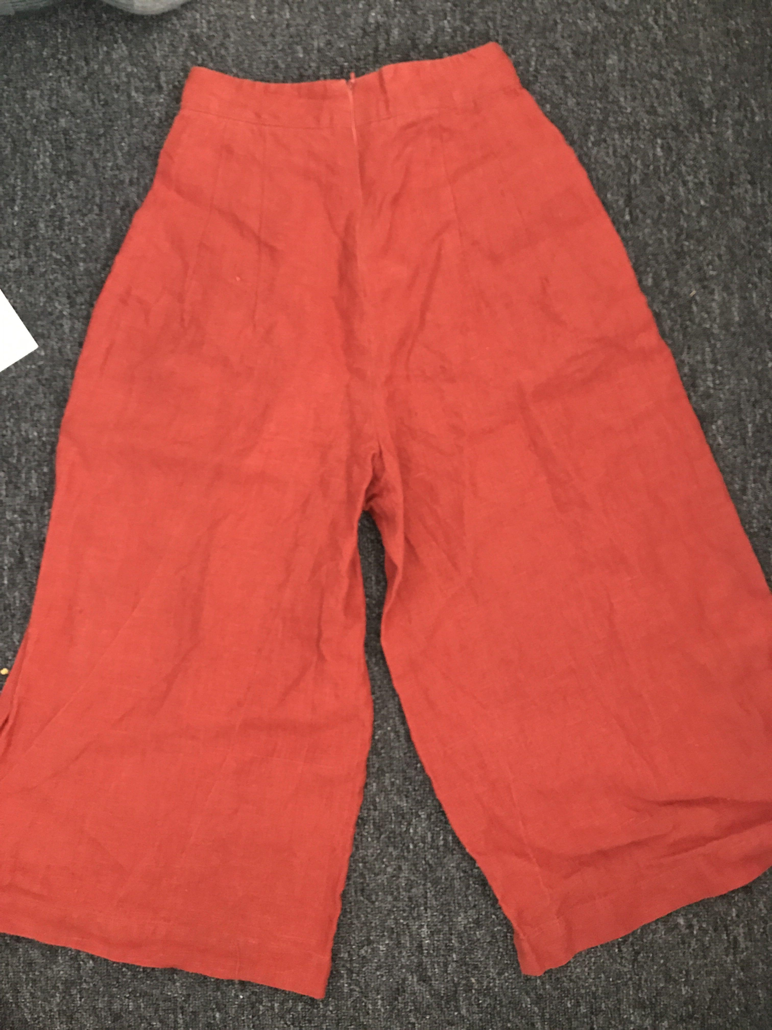 wide pant culottes
