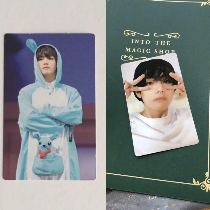 [wtb/lf] bts v/taehyung 4th & 5th muster dvd photocards