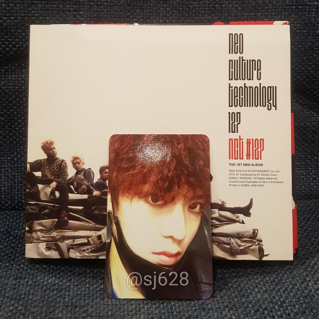 [YUTA] Official Photocard - Mini Album Vol.1 NCT #127