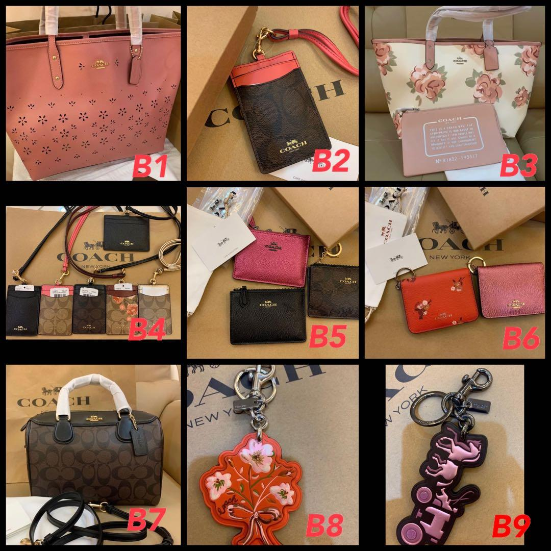 (17/05/20)Ready Stock Authentic coach women bag sling bag crossbody purse clutch backpack wallet pouch Kate spade backpack money clips Marc Jacobs sling bag
