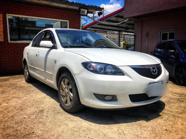 2005 Mazda 3 2.0 白