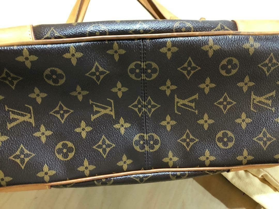 AUTHENTIC LOUIS VUITTON ESTRELA MM MONOGRAM LOGO CANVAS - OVERALL OK ! - WITH STRAP - (SIZE 37 X 30 CM APPROX) - COMES WITH DUSTBAG - (RETAILS USD $1840 / RM 8000+)