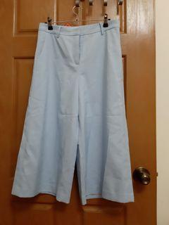 bear  two 水藍色寬褲