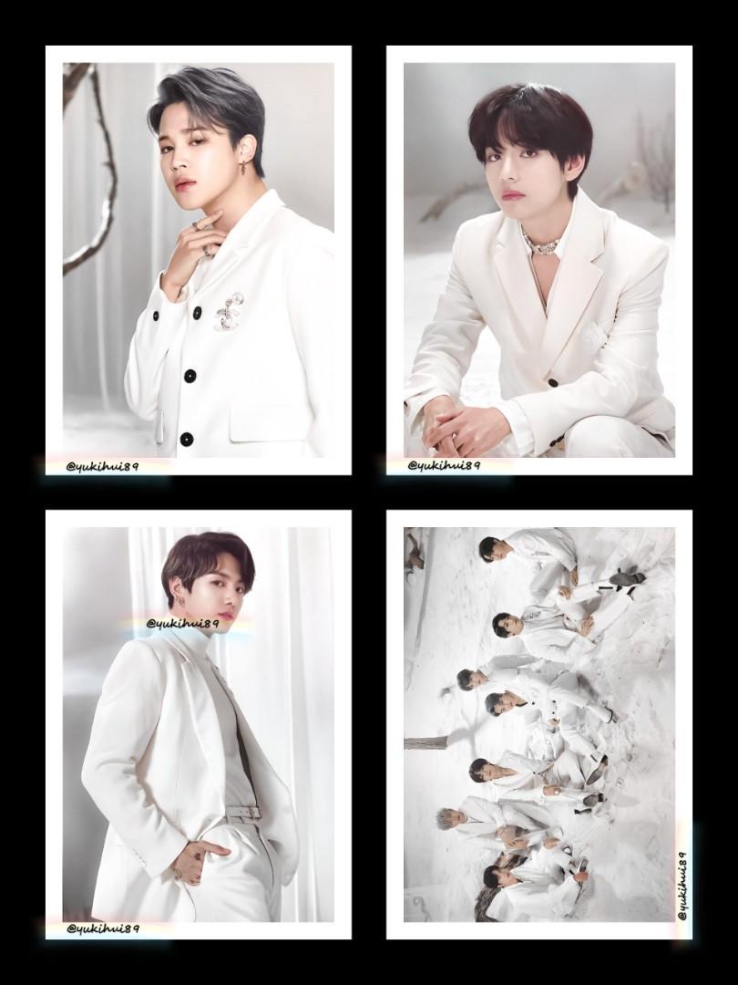 BTS MAP OF THE SOUL TOUR UNOFFICIAL⚠️ PREMIUM PHOTO (RM27 EACH)