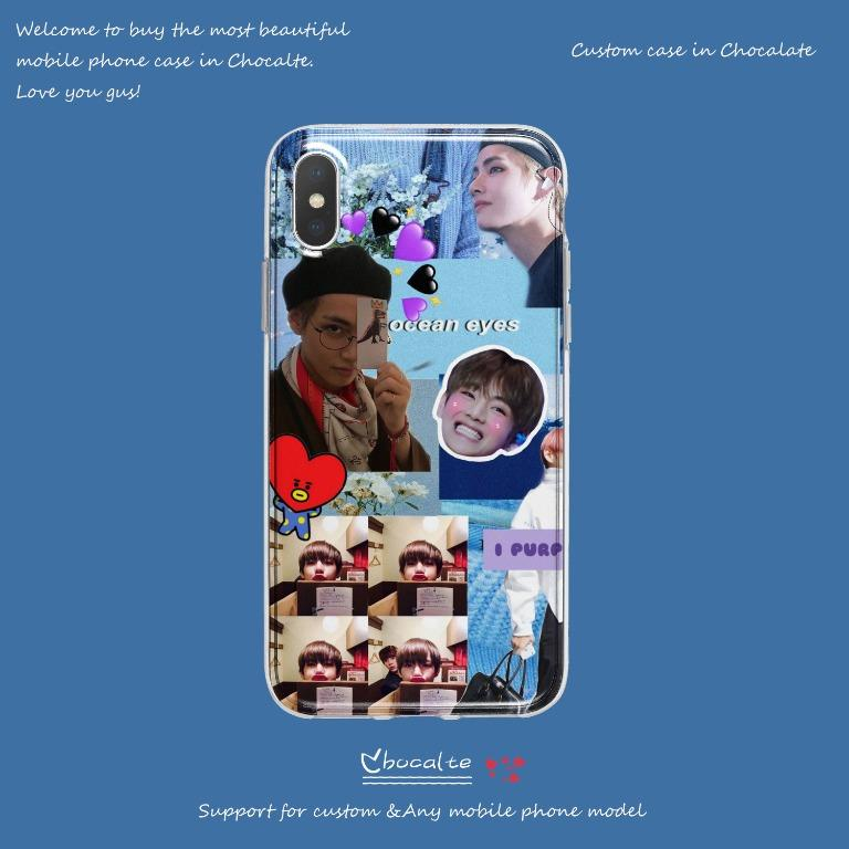 BTS Taehyung V Phone Case/ All phone model are available