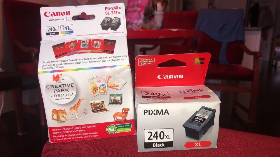 Canon Ink Cartridge Pixma x 3