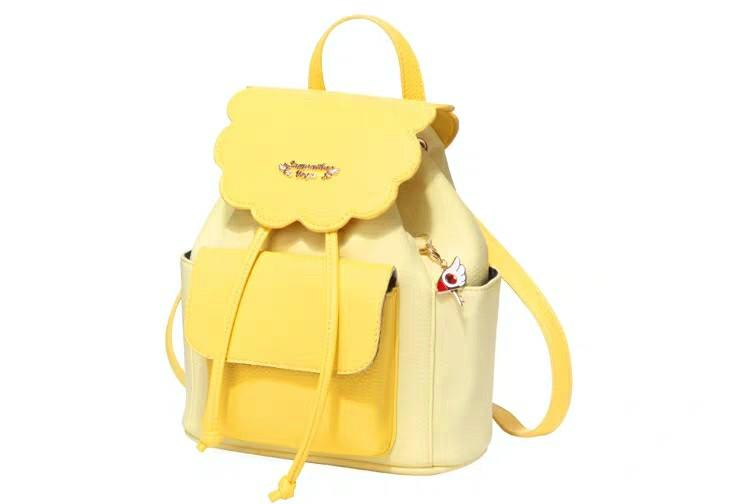 Cardcaptor Sakura Yellow Bag