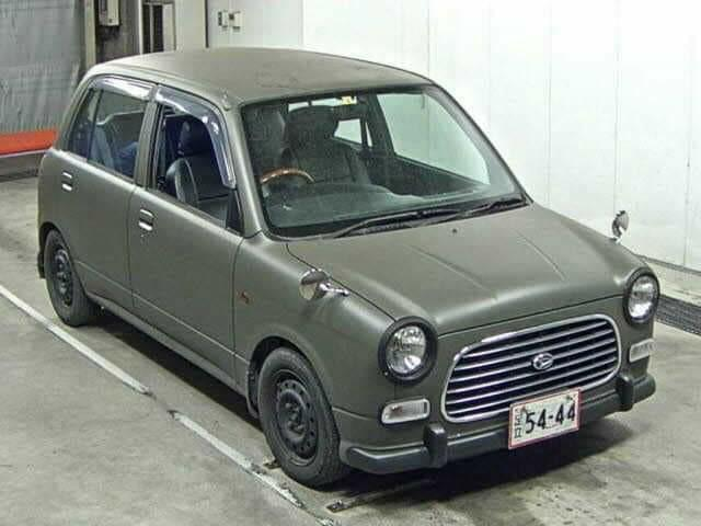 Daihatsu mira - Manual