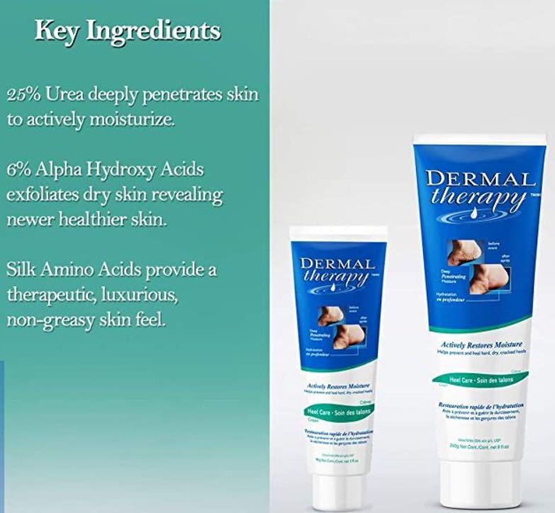 Dermal Therapy Heel Care Cream/Actively Restores Moisture