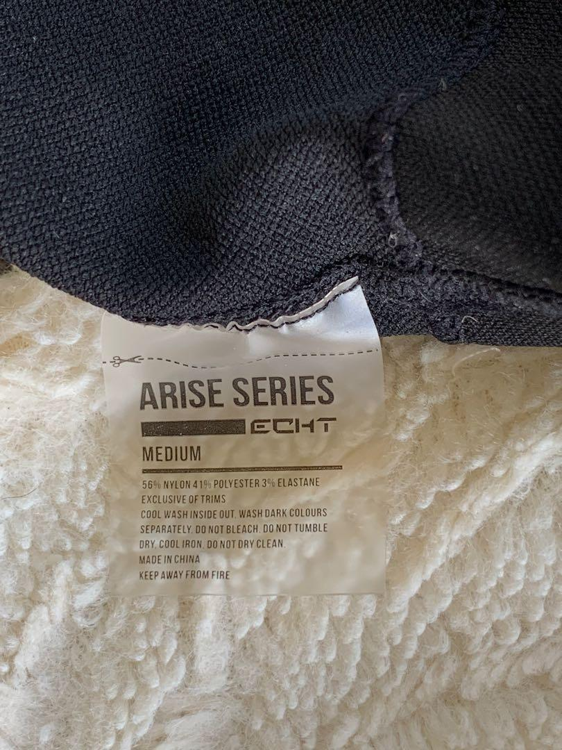 ECHT Arise Shorts -Black