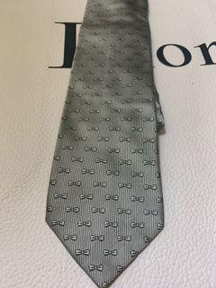 Eden Park Silver Tie with Bow Tie Pattarn 銀色領呔