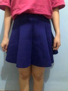 Flare skirt scuba premium #thr2020