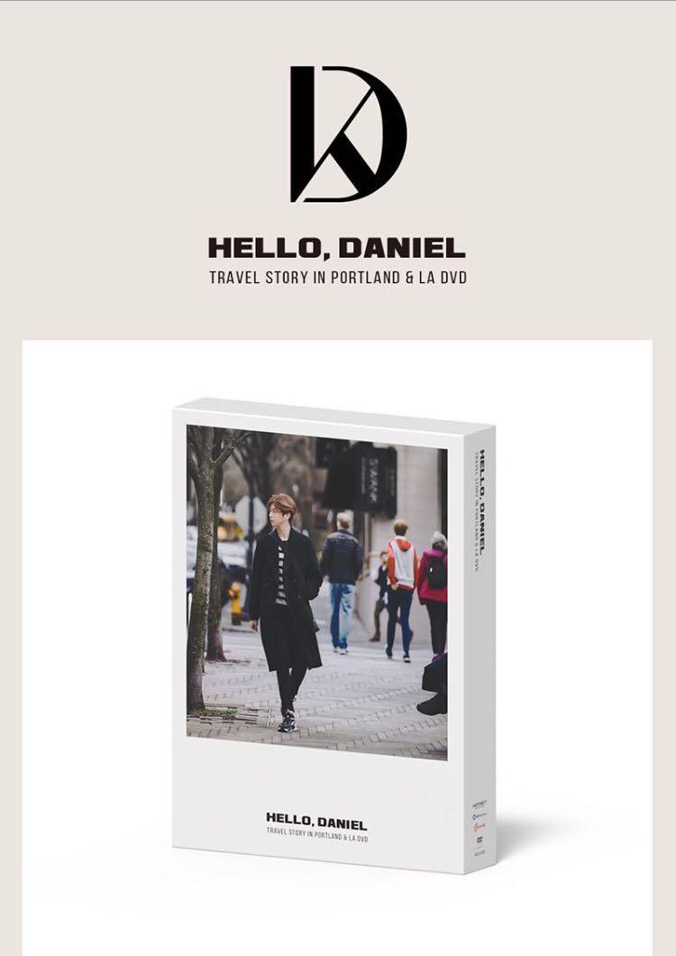 🌺Kang Daniel🌺HELLO,DANIEL [TRAVEL STORY IN PORTLAND & LA DVD]