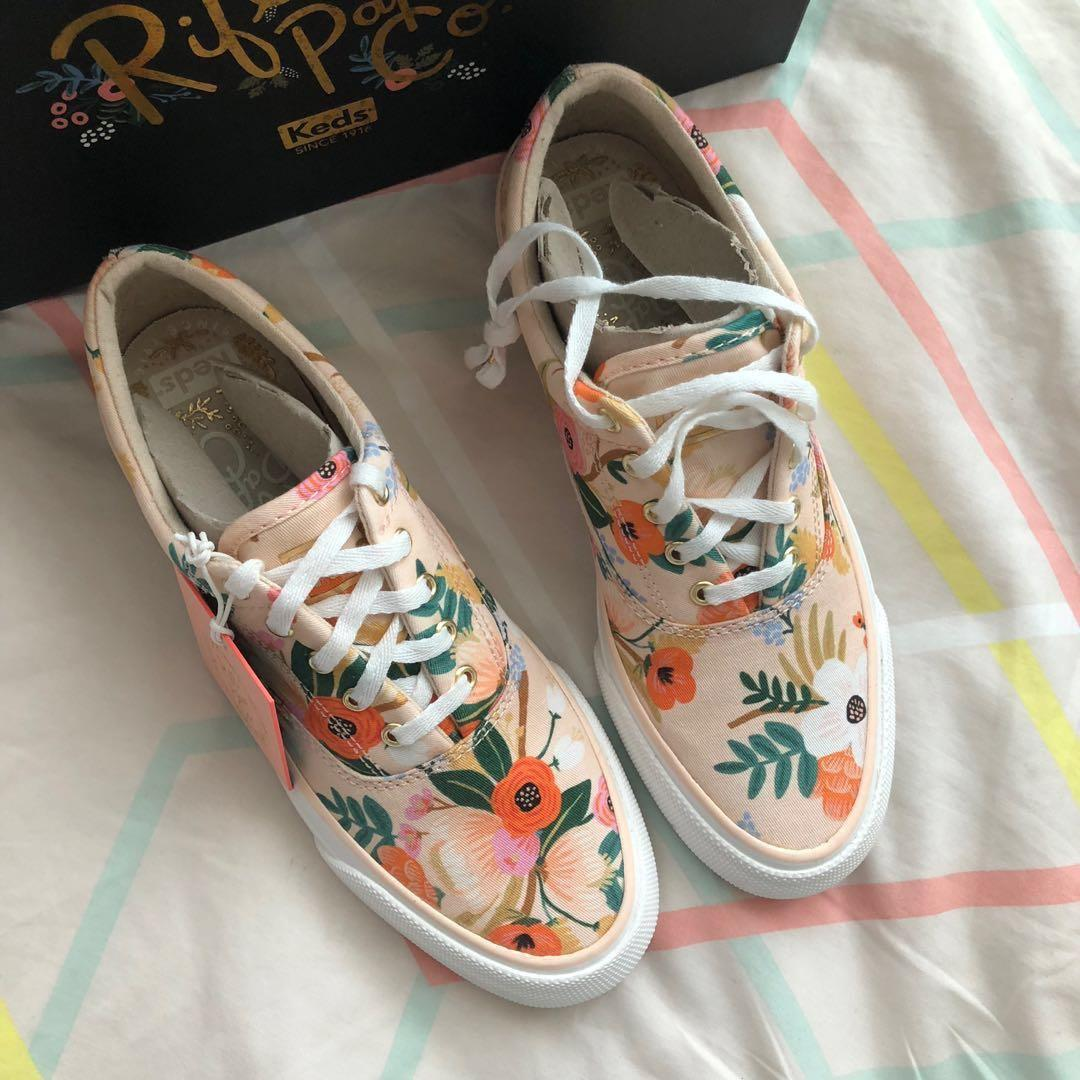 Keds x Rifle Paper Co. Anchor Lively