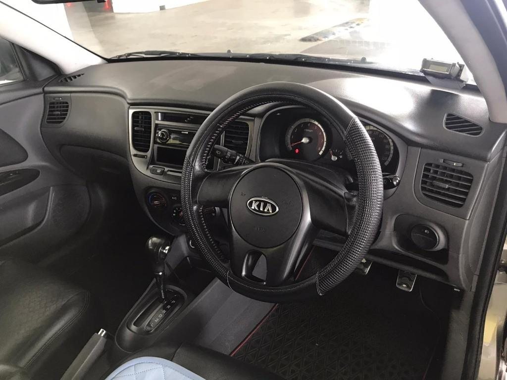 Kia Rio HAPPY SUNDAY~  50% OFF! Lalamove/Grabfood/Parcel Delivery Ready! Cheapest rental in town with just $500 Deposit driveoff immediately.  Whatsapp 8188 8616 now to enjoy special rates!!