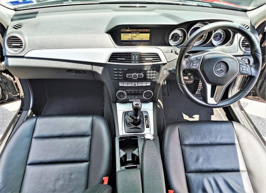 Mercedes Benz C250 AMG 2013 (LIMITED SPEC !!) (FULL LOAN !!)